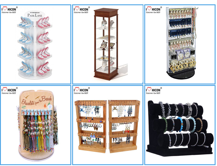 Jewelry Store Display Rack