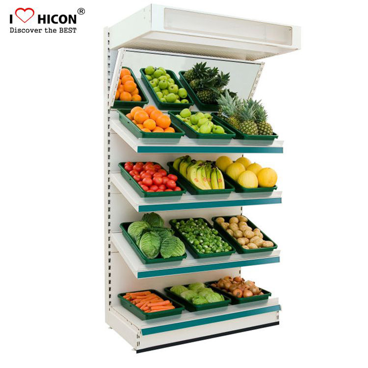 Vegetable And Fruit Display Shelves