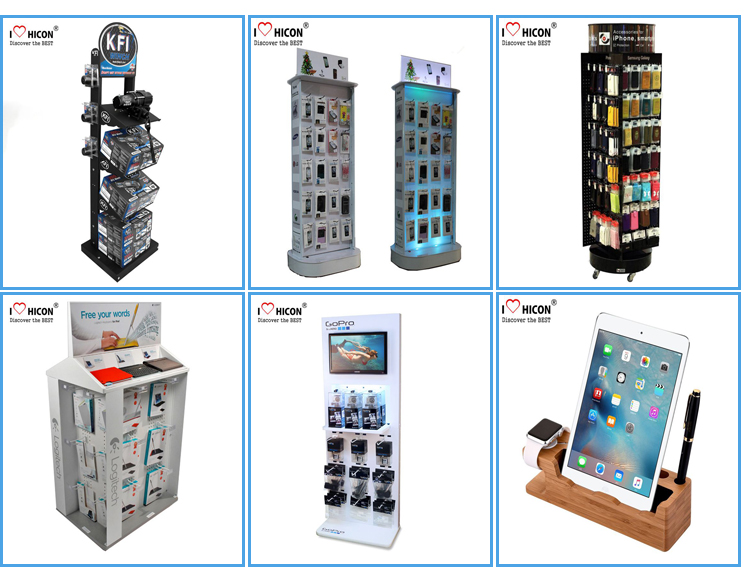 Electrical Outlet Appliances Floor Display Racks