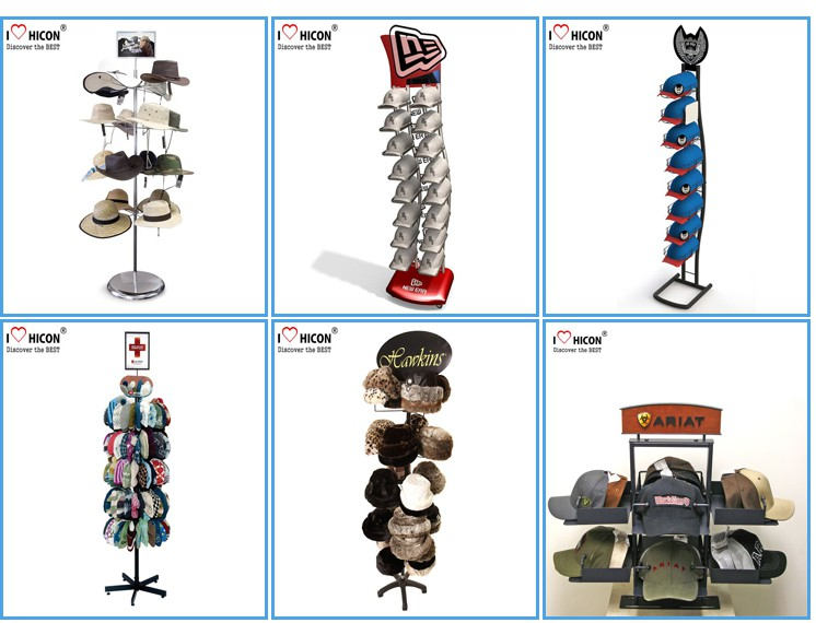 Commercial Hat Stand Display Racks