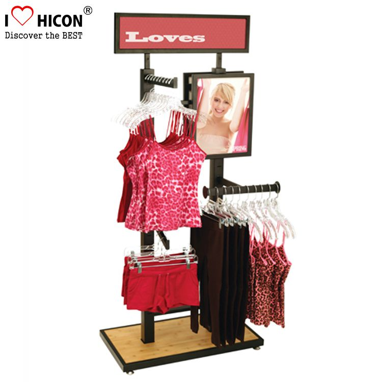 Underwear Boutique Clothing Display Rack