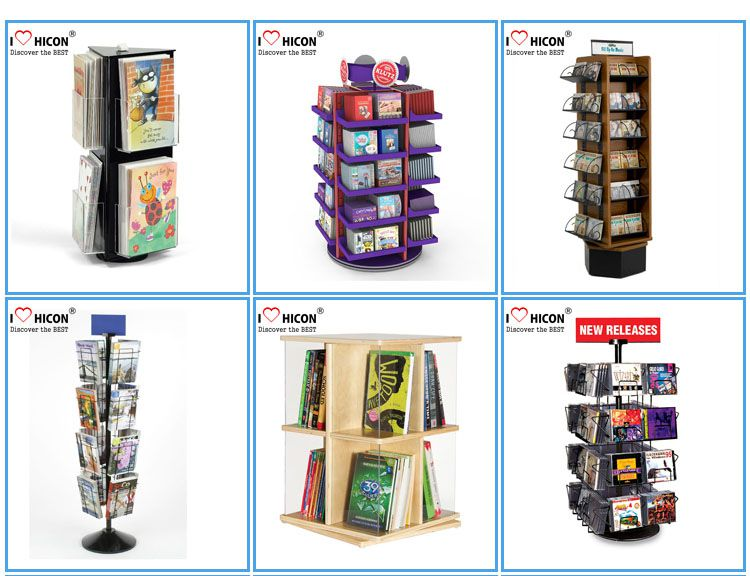 Acrylic Book Display Racks