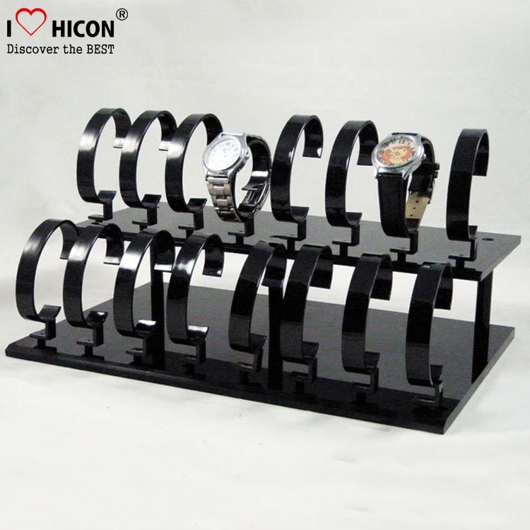 Black Acrylic Watch Display Racks