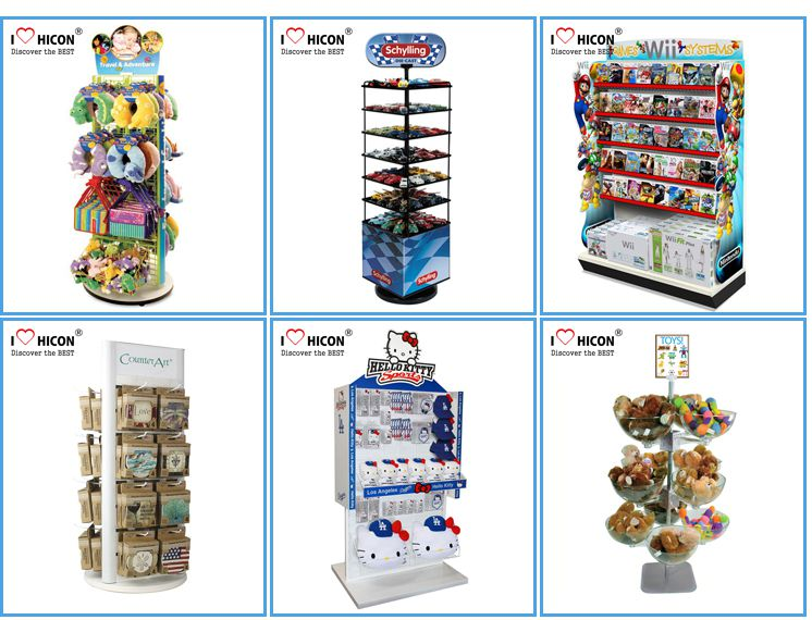 Kids Toy Permanent Display Cabinet