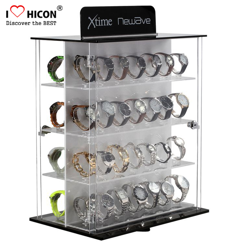 acrylic watch display case