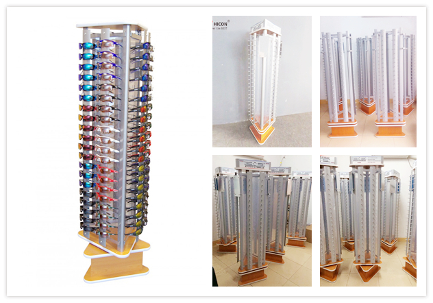 eyewear floor display