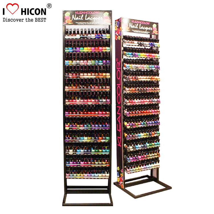 nail polish display shelves