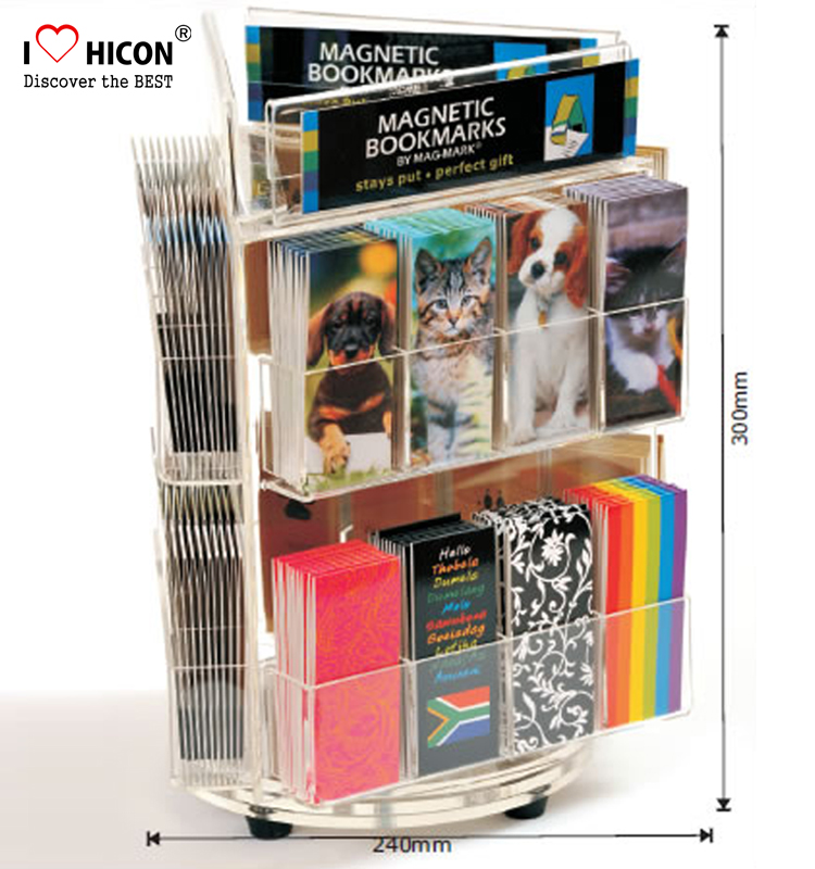 acrylic book display stand