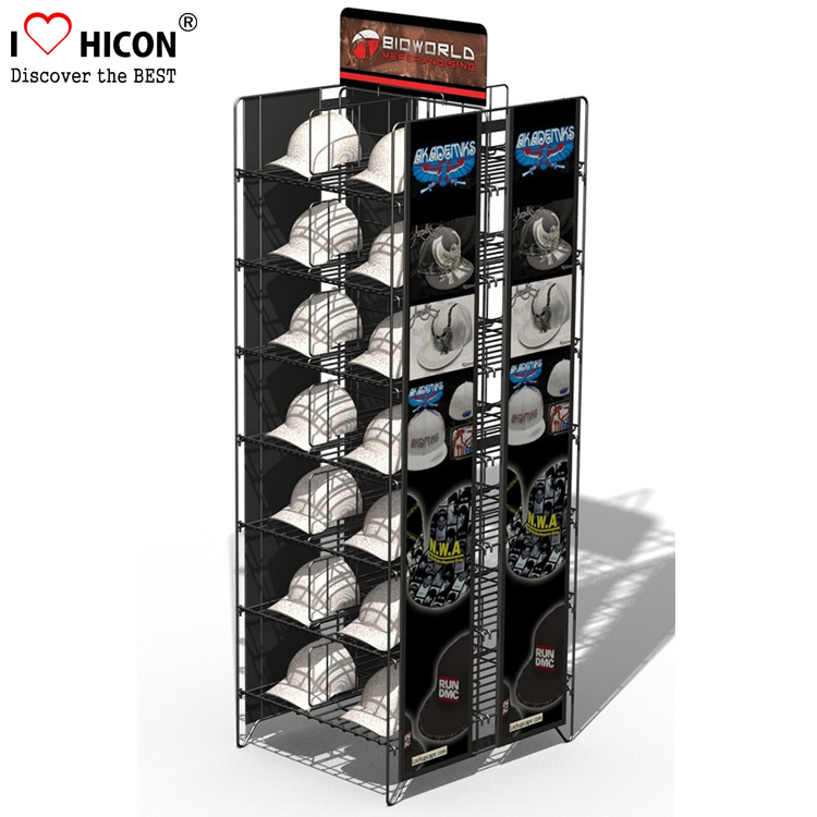 Metal Hat Stand Display