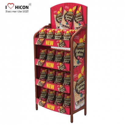 Floor Artificial Food Display Stands