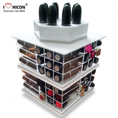 Cosmetics Display Case For Lipstick