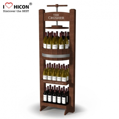 Liquor Bottle Display Shelf