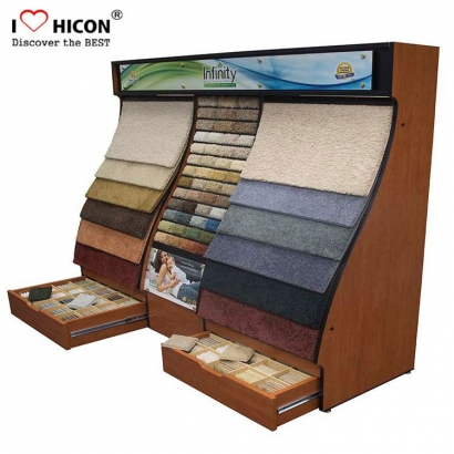 Carpet Sample Display Rack