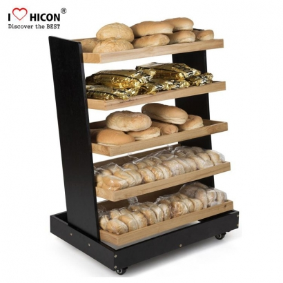 Floor Bread Display Rack