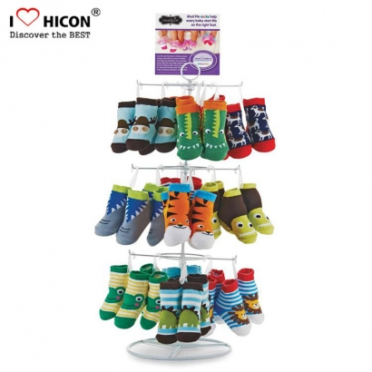 Lasten Sock Display Foot Stand