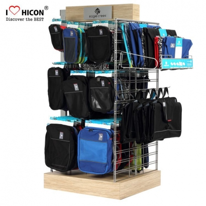 Bag Store Interior Design Display Rack