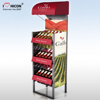 Wine Floor Display Rack