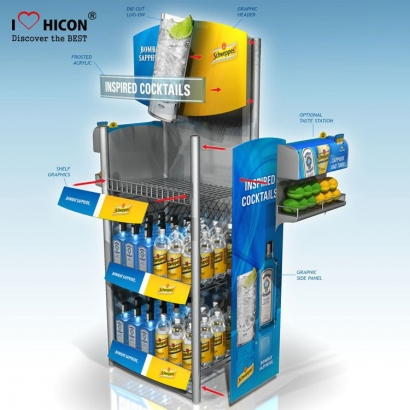 Soft Drinks Display kabinet