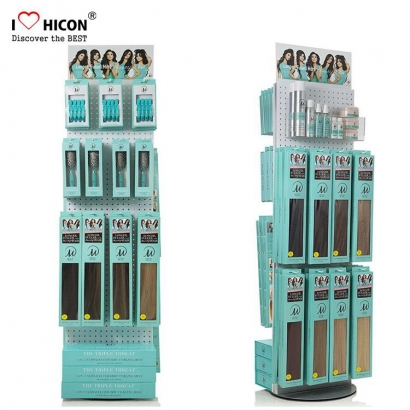 Extensiones de cabello Brush Display Stands