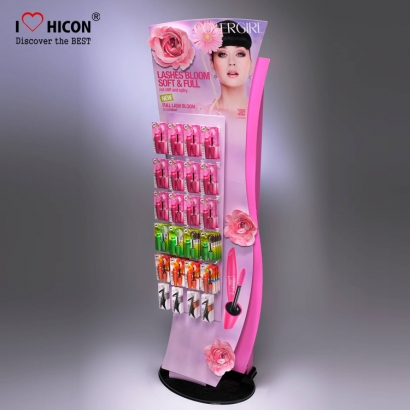 Acrylic Eyelash Grower Retail Display Rack