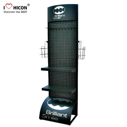 Freestanding Pegboard Display Unit