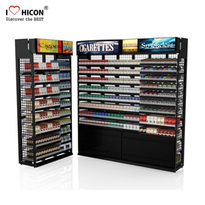 Cigarette Floor Retail Display Rack