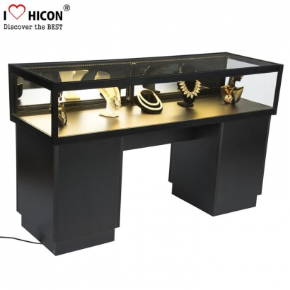 Jewelry Store Display Cases with Light