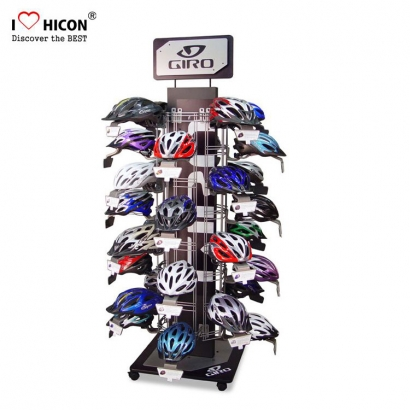 Customized Safety Helmet Motorcycle Display Stand