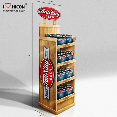 Wooden Storage Display Wine Cabinet