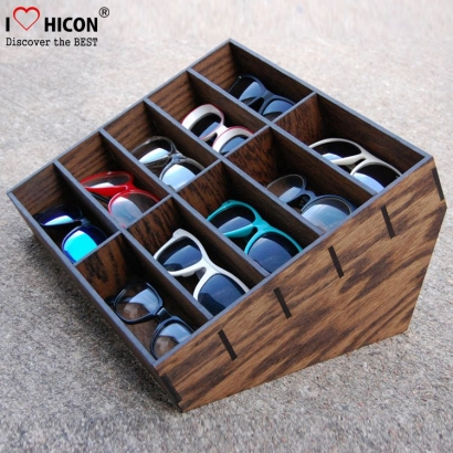 Wood Display Cases For Sunglasses