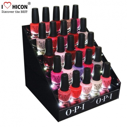 Nail Polish Make up Display Stands with Backlight