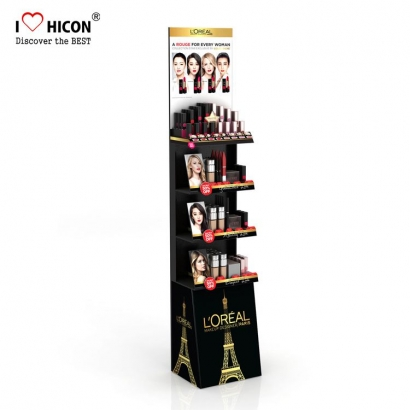 Cosmetics Display Floor Stand