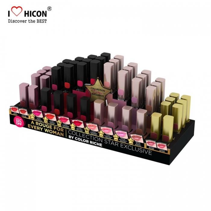 Blijvende indruk Acryl make-up display Lipstick displaystandaard