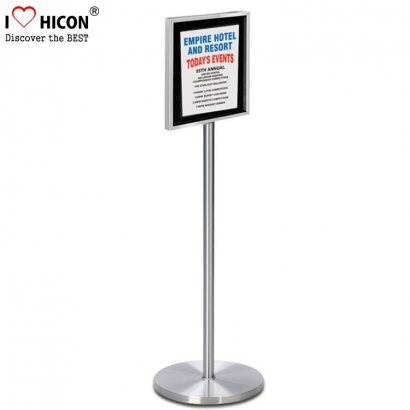 outdoor poster display stand