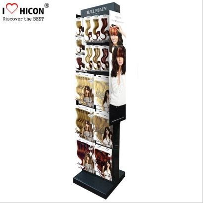 Hair Extensions Accessories Wall Display Stand