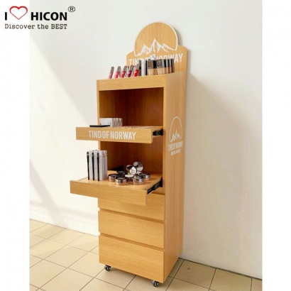 Cosmetics Display Shelves
