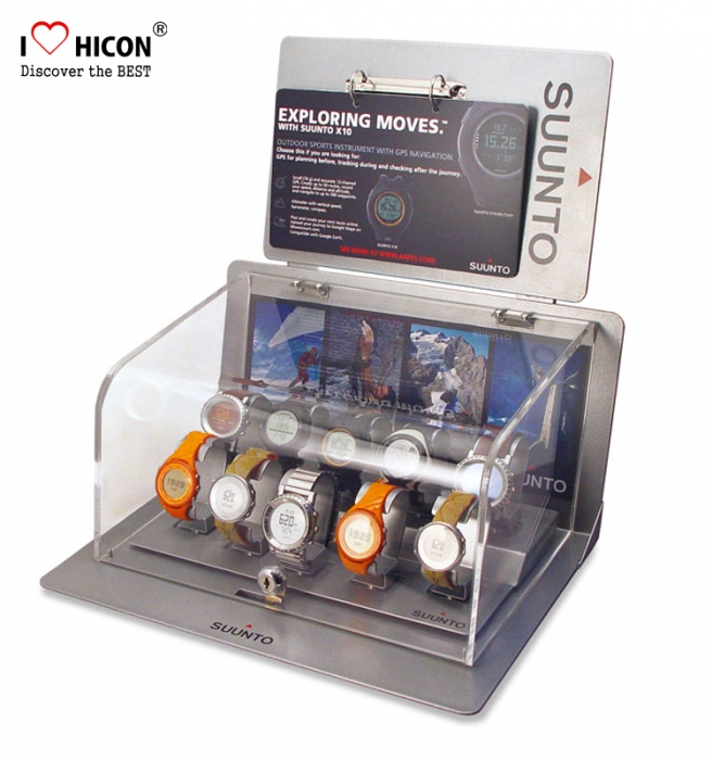 Maximize Your Sales Counter Watch Stand, Acrylic Watch Display Stand