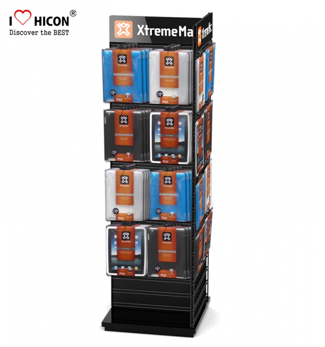 Slatwall Display Power Performance Wood Wire Spinner Rack Display Stand