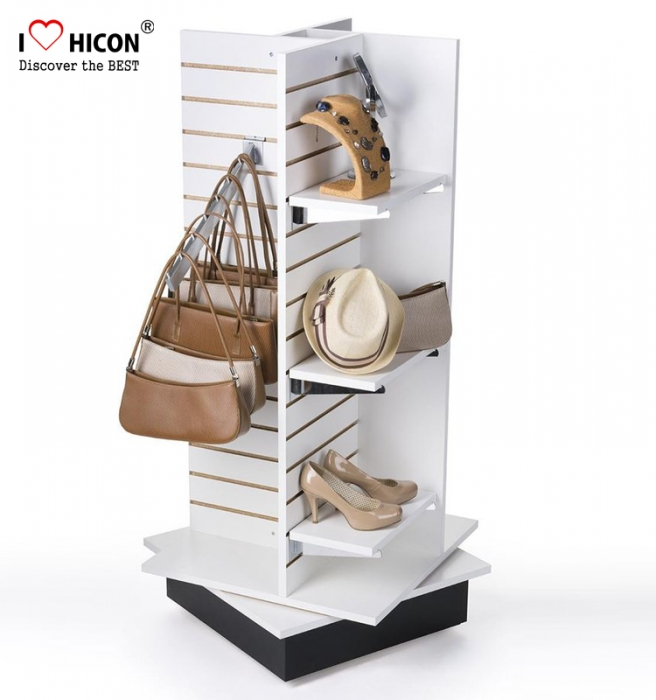Factory Price Free Design Shopping Mall Hanging Bags Display Stands