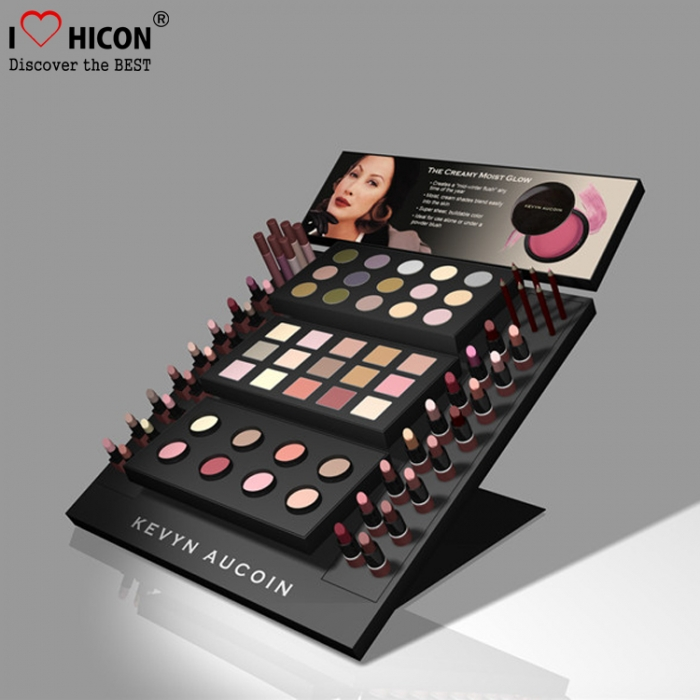 Creative Cosmetics Store Custom POP Display For Make Up Beauty Items