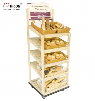 Bread Display Shelf