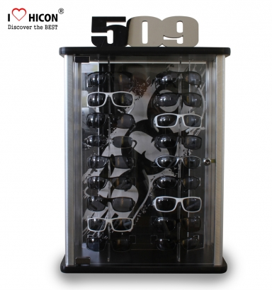 Sunglasses Display With Lock