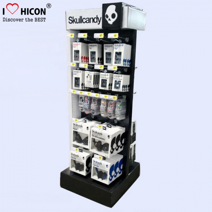 Create Brand Custom Floor Cell Phone Mobile Accessories Display Stands