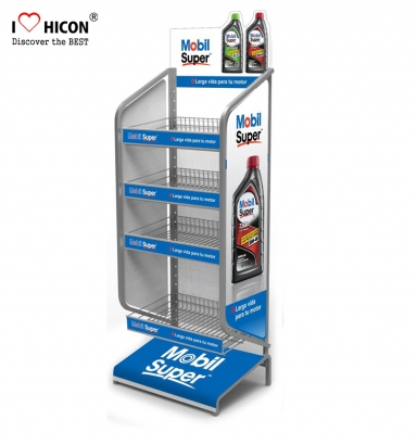 Lubricant Oil Display Rack
