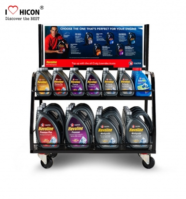 Motor Oil Display Stand