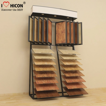 display rack de ladrilhos