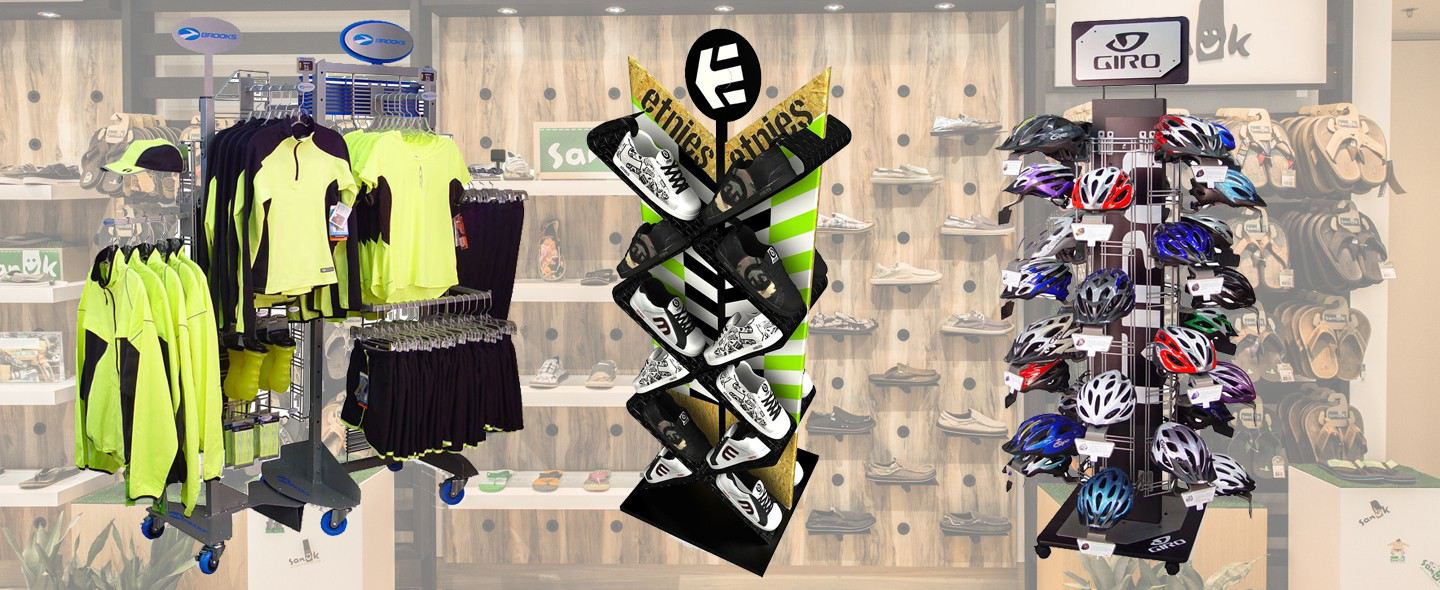 Sportwear Display Design