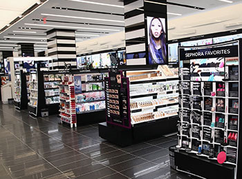 Cosmetic Shop Beauty Display